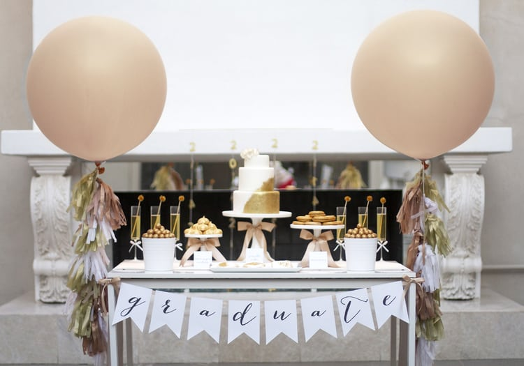 classy graduation party ideas for girls
