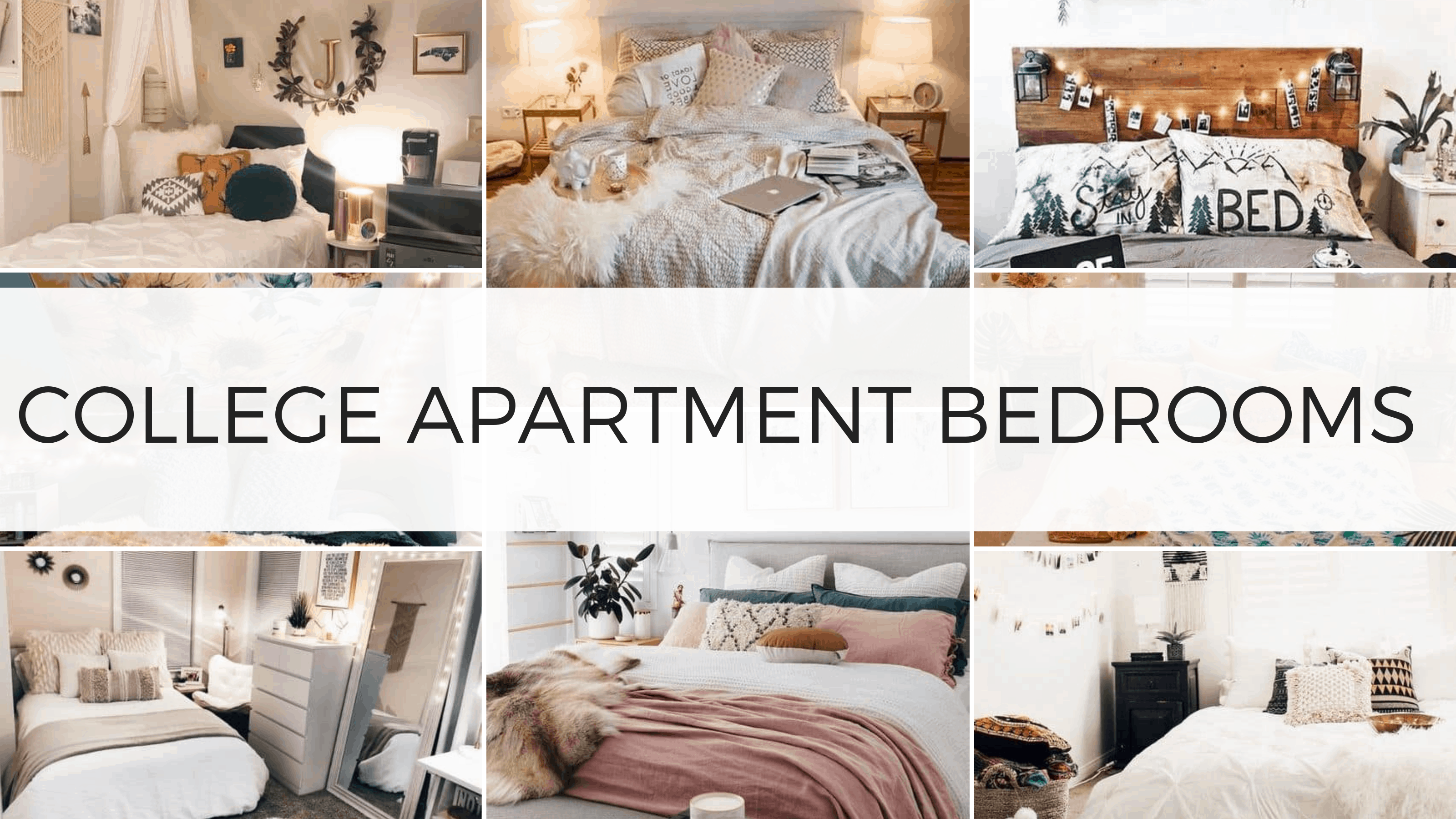 29 Genius College Apartment Bedroom Ideas You\'ll Want To Copy - By ...