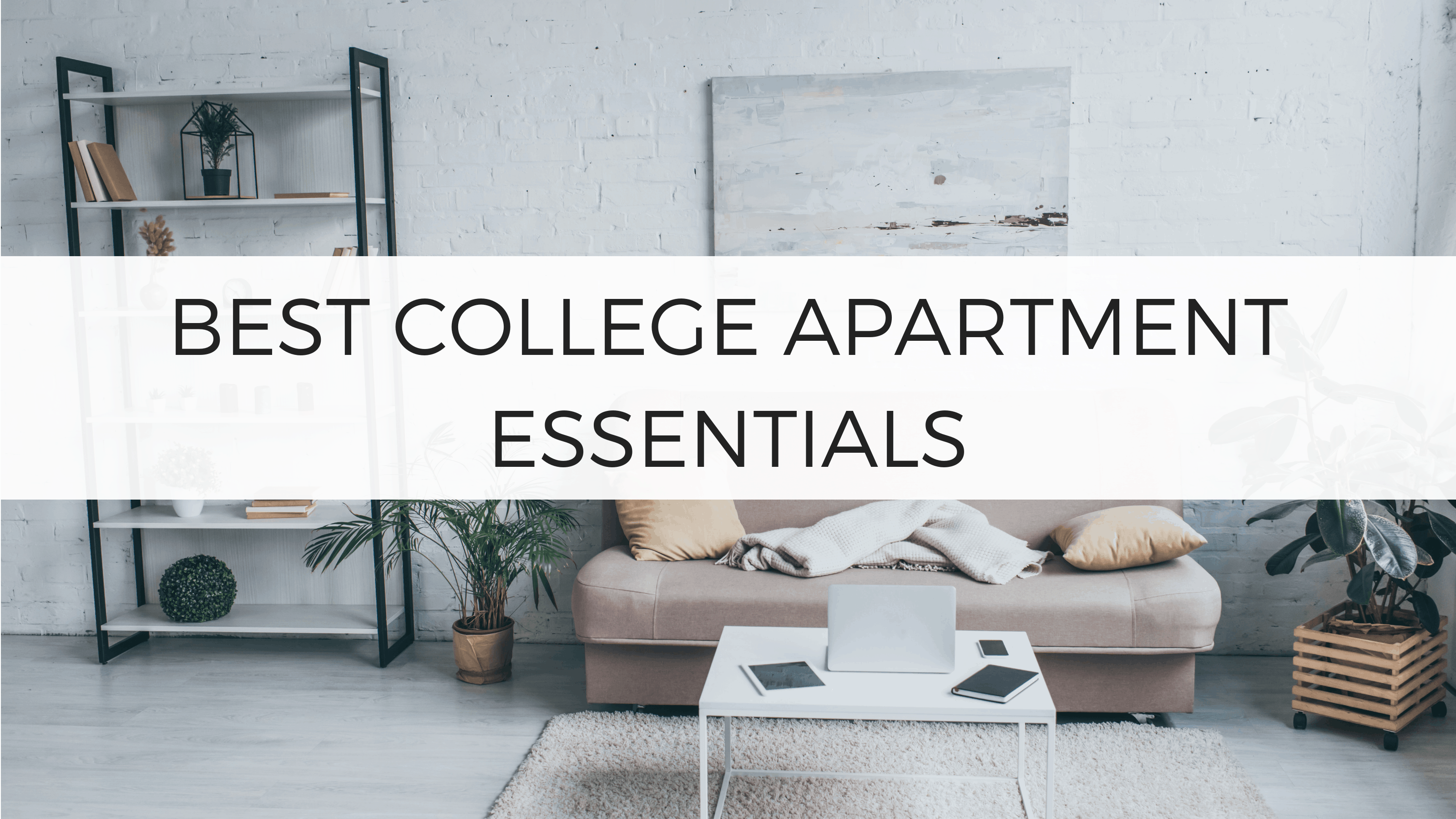 29 College Apartment Essentials You Can\'t Forget - By Sophia Lee