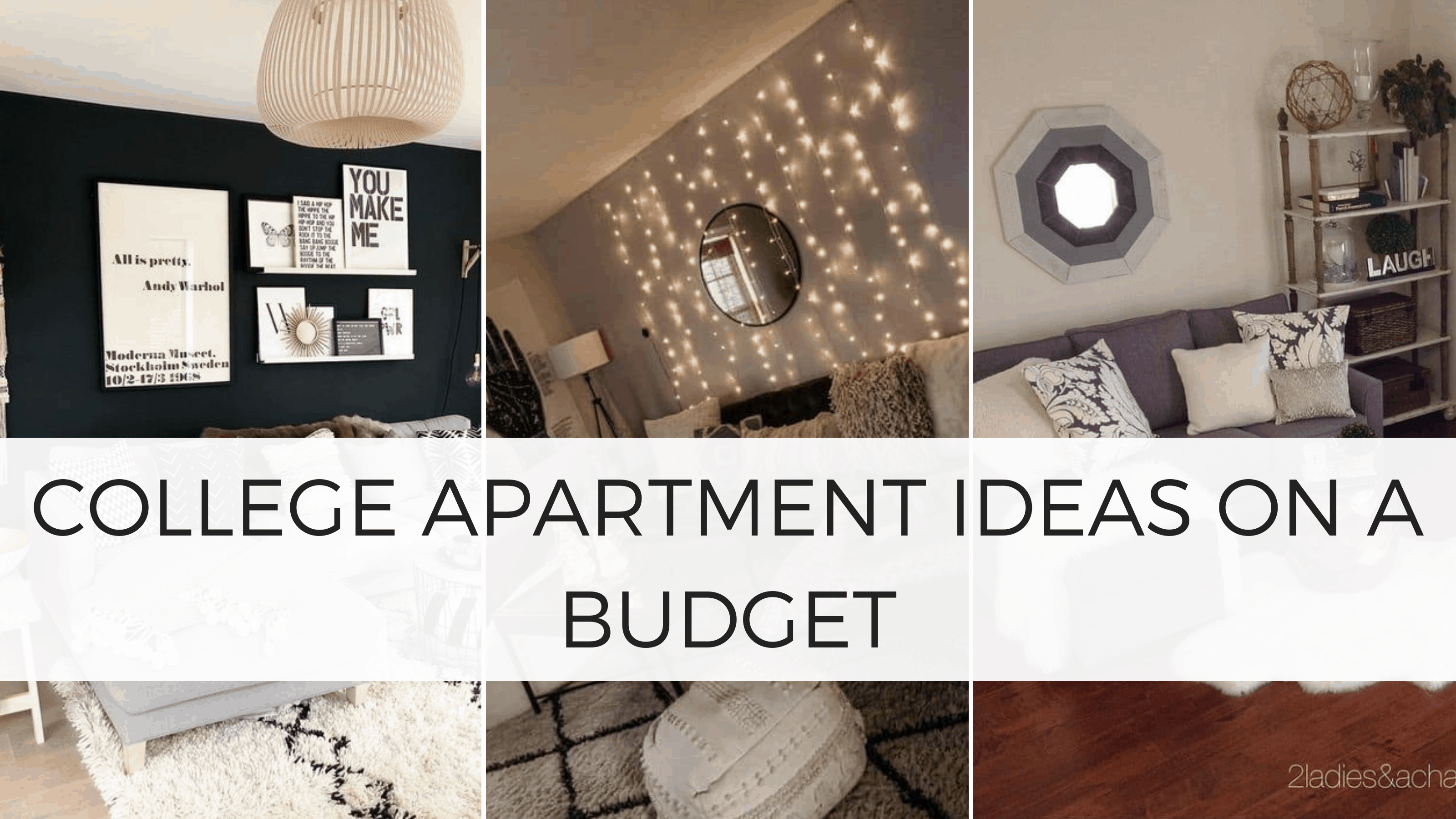 college apartment ideas that dont break the bank