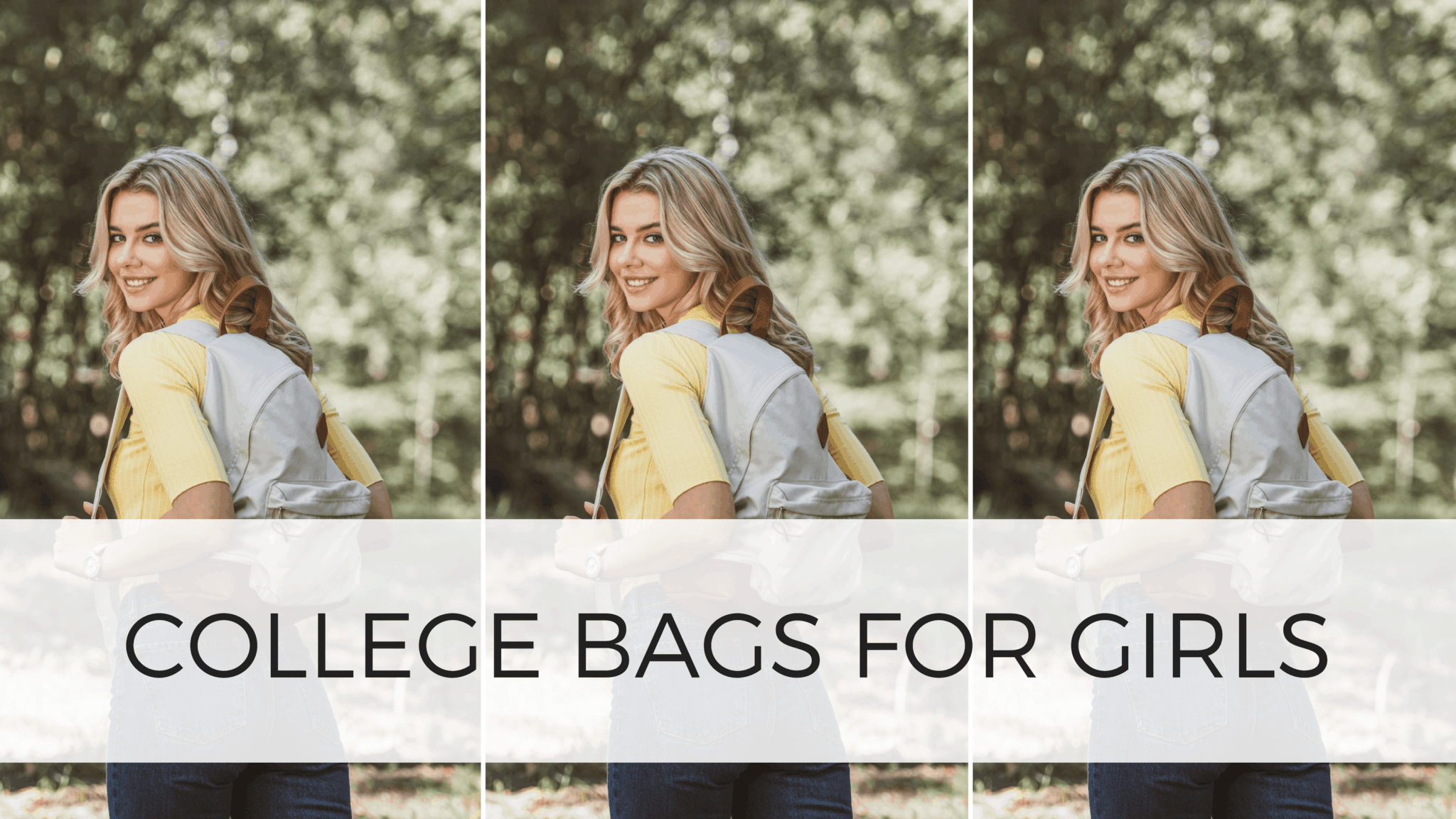 college bags for ladies