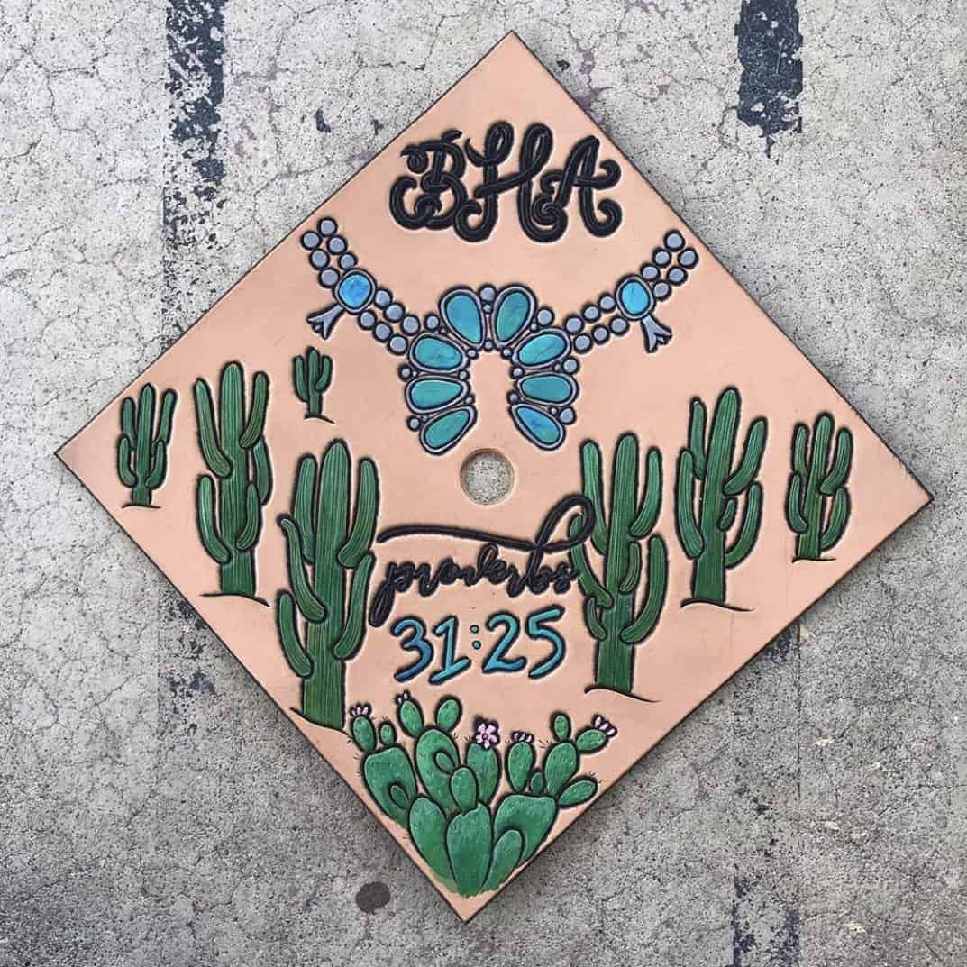 college graduation cap