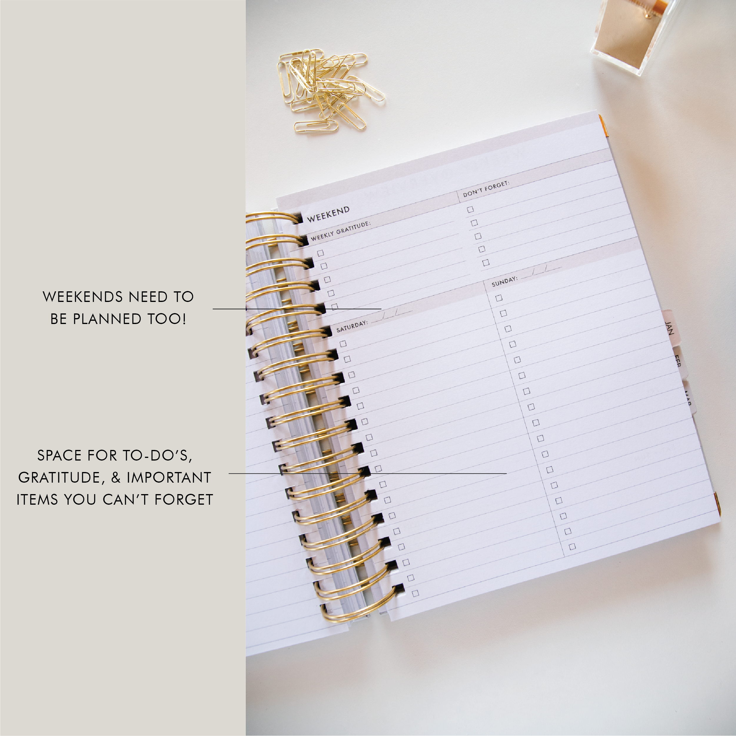college planner printable