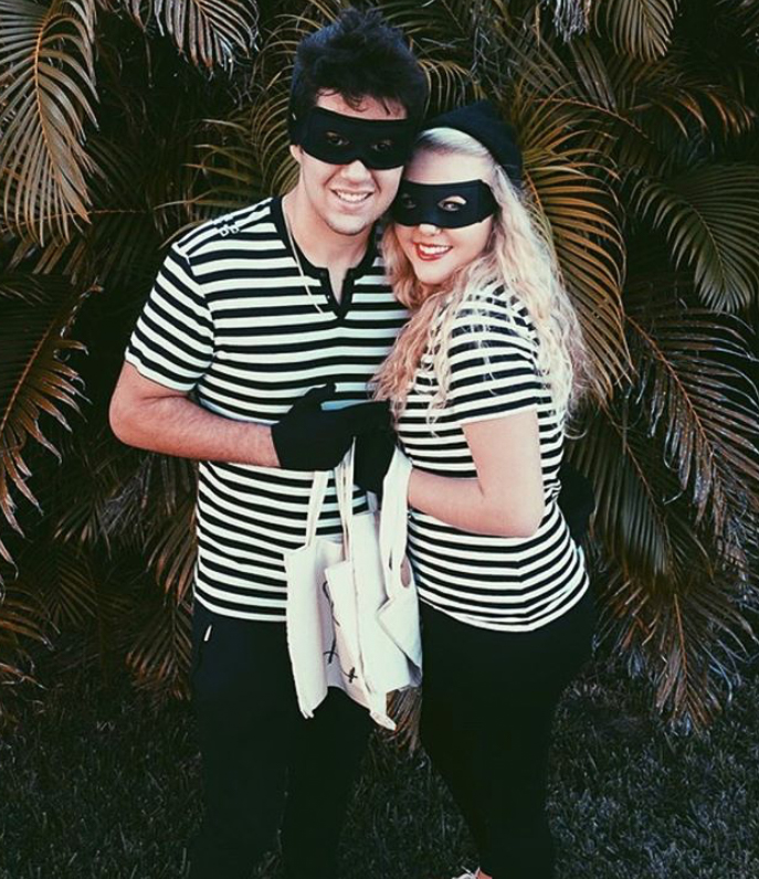 DIY halloween couple costumes
