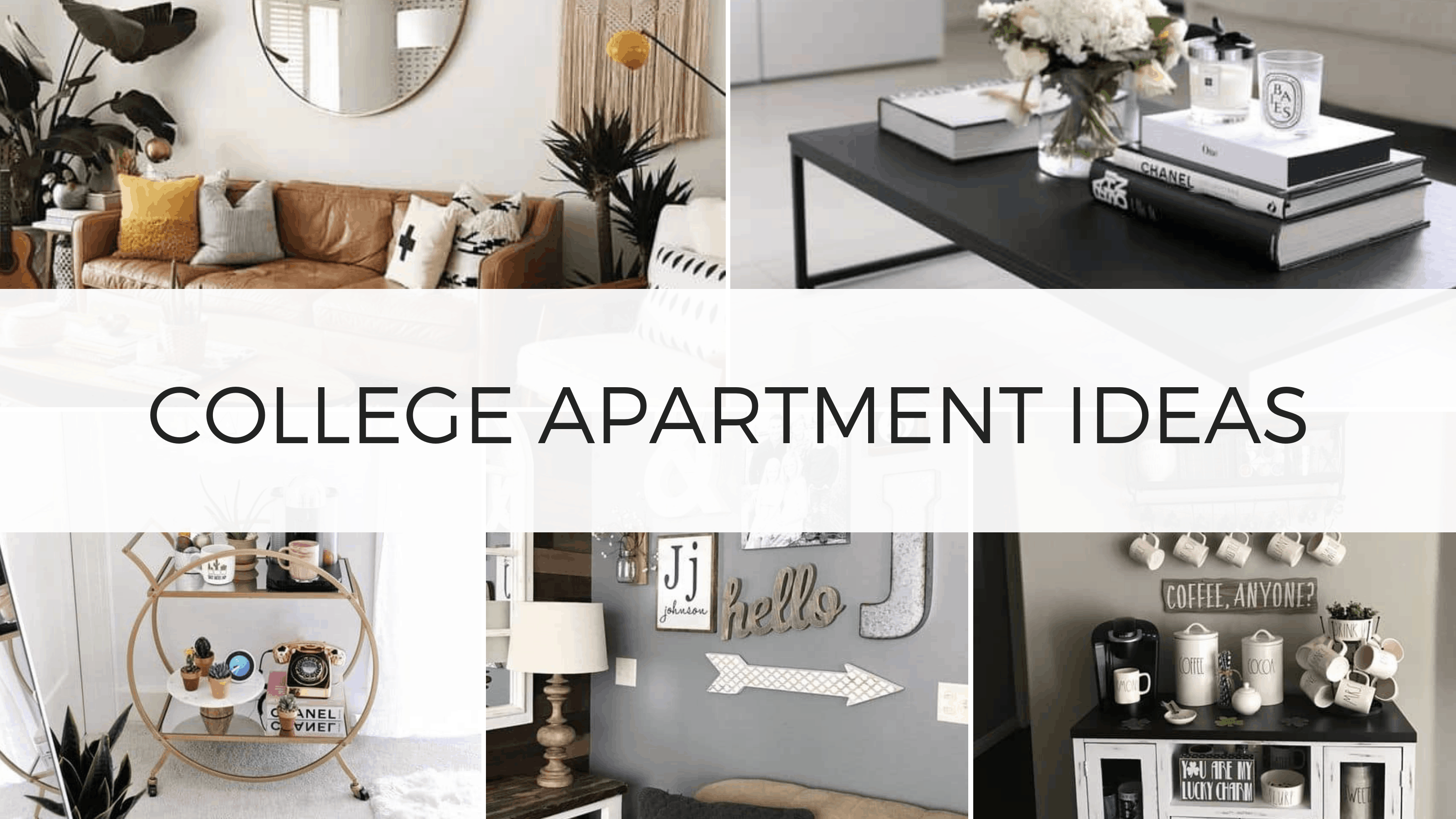 cute college apartment ideas