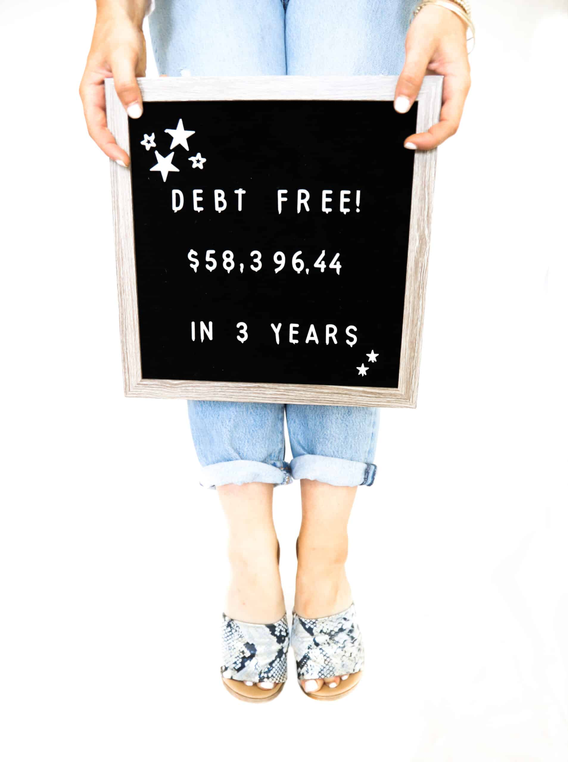 debt free by sophia lee