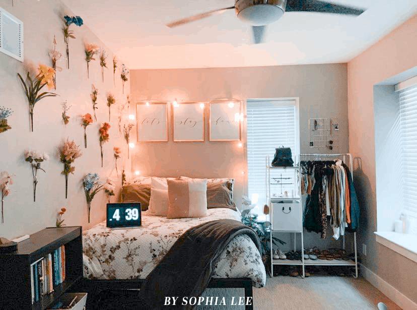 dorm closet ideas