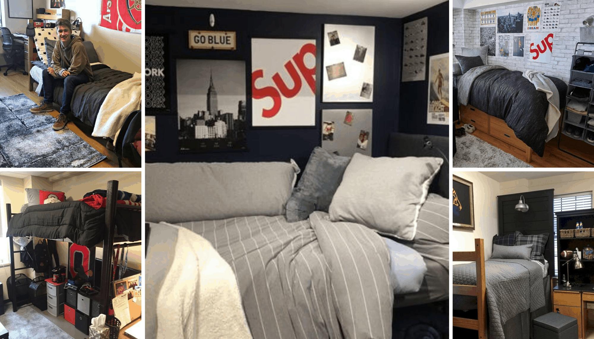 Dorm Room Ideas For Guys  12 Ideas For Guys Dorm Rooms That Aren