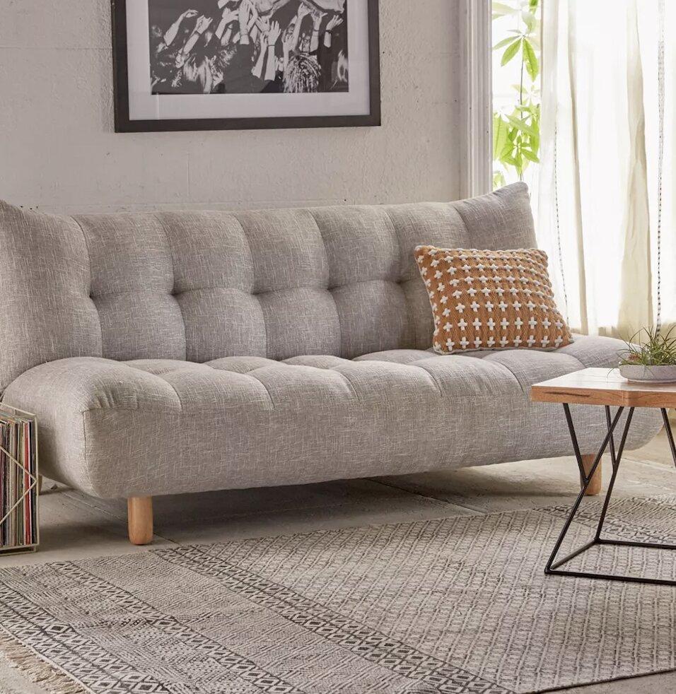 mini dorm futon