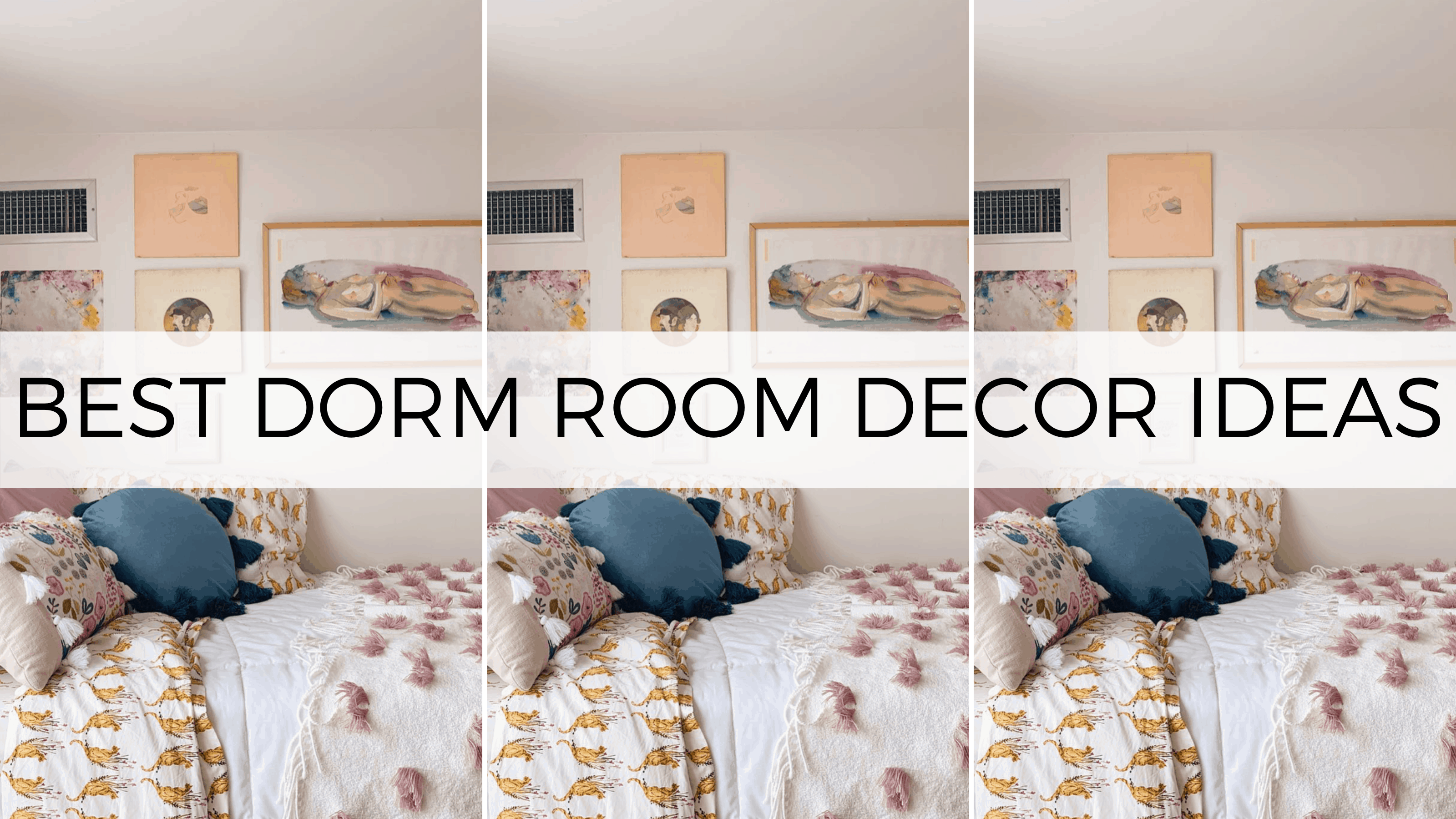 The Best 26 Dorm Room Decor That Will Completely Transform Your