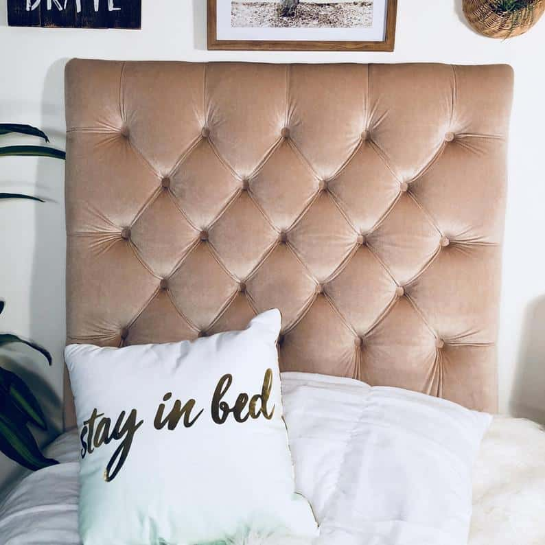 dorm room headboard
