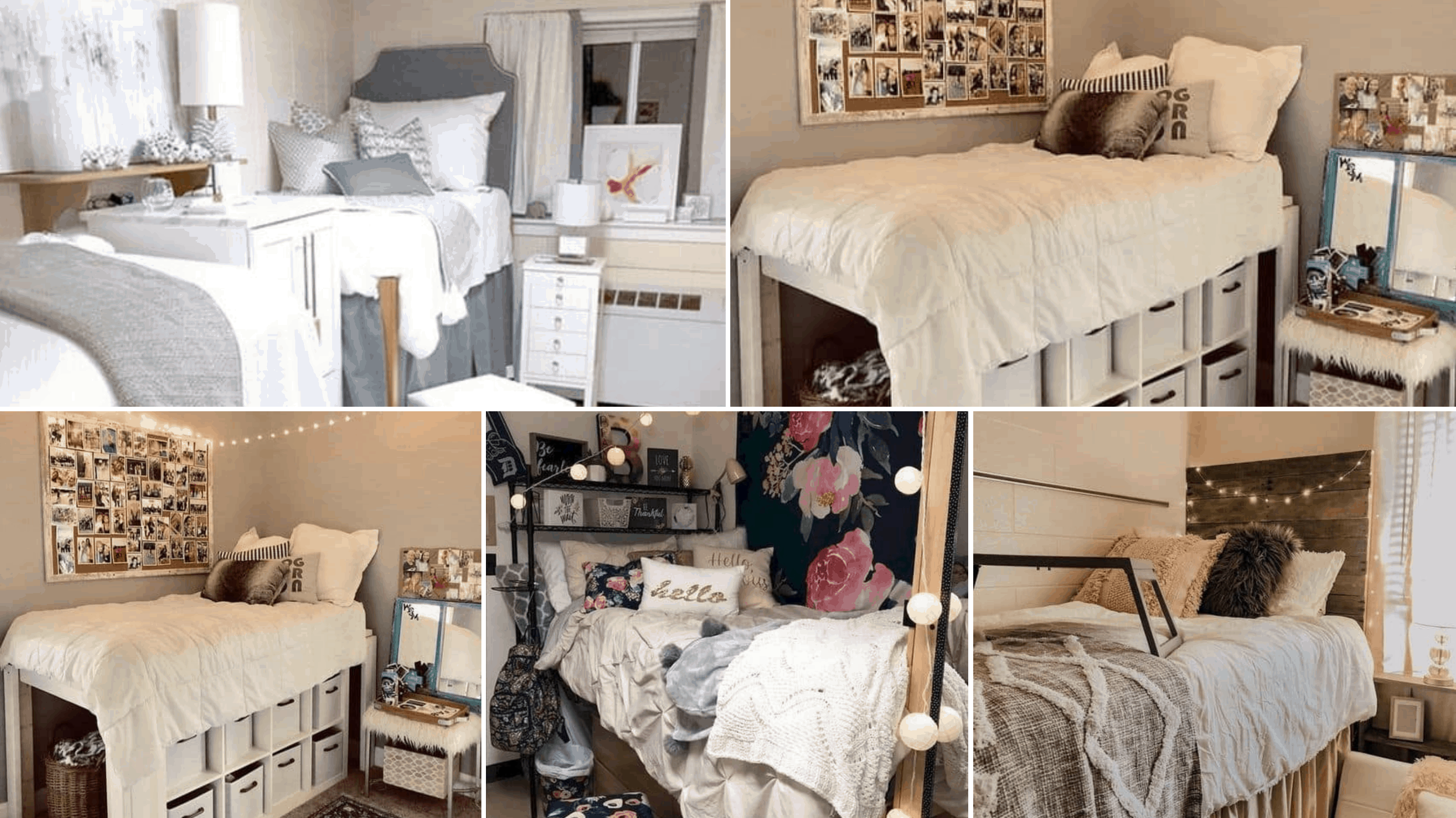 26 Insanely Cute Dorm Room Ideas for Girls To Copy This Year - By