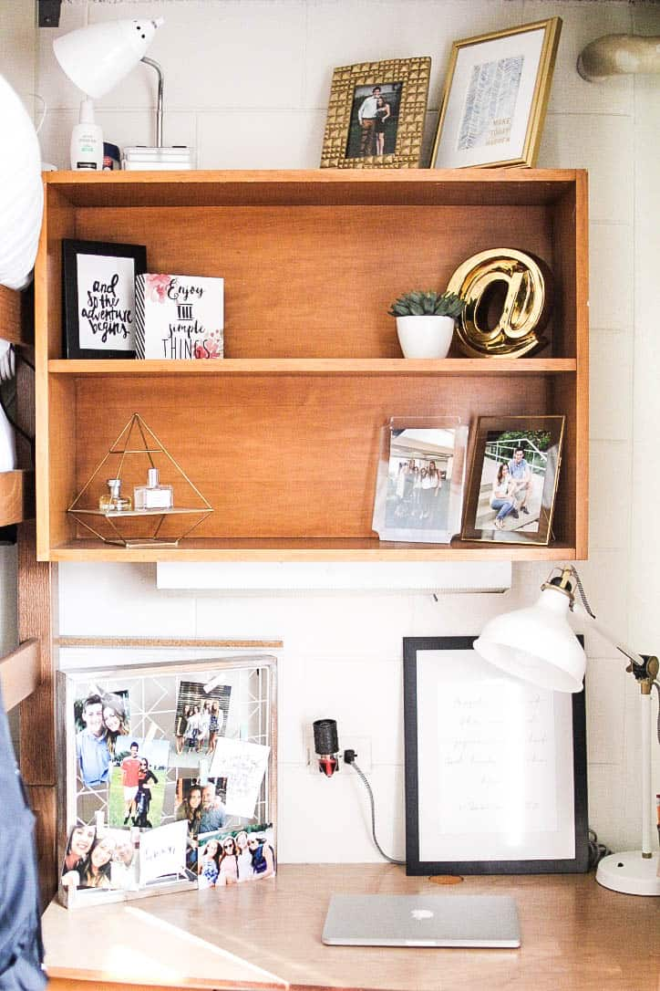 dorm room ideas organization