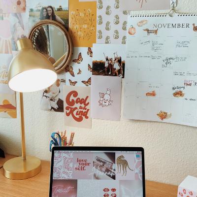 dorm room organization