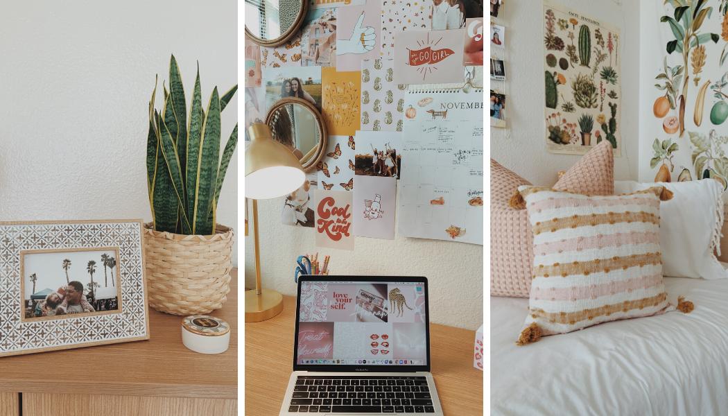 dorm room organization ideas