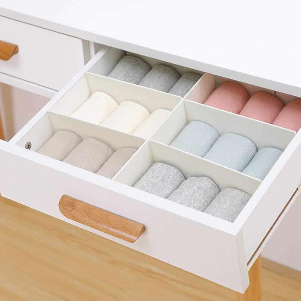 dresser drawer organizer