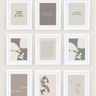 free wall art printables