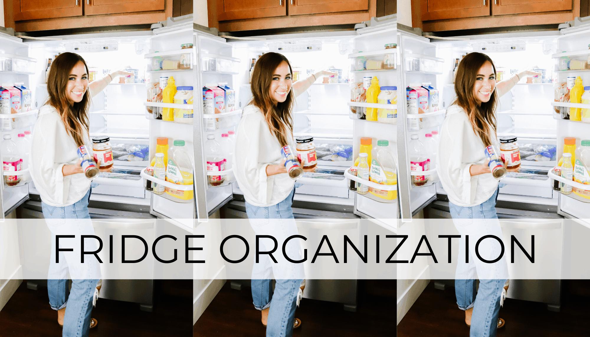 fridge organization