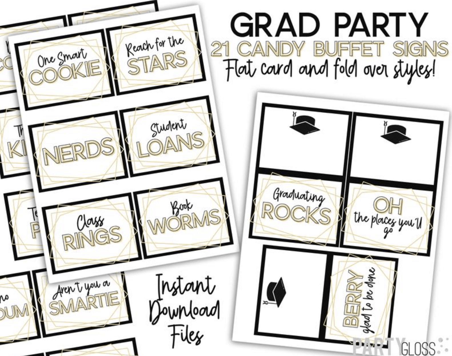 fun graduation party games