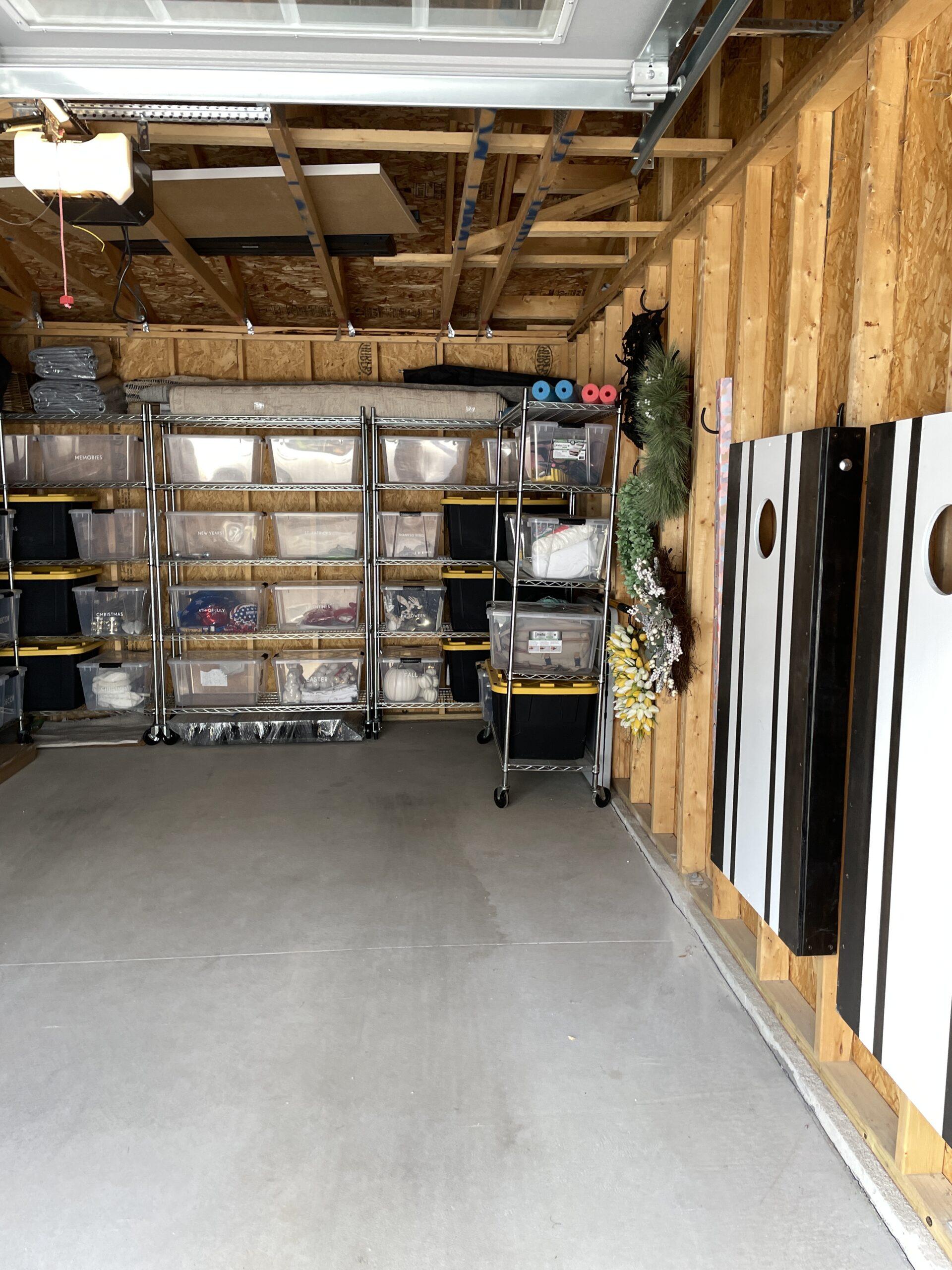 garage organization diy