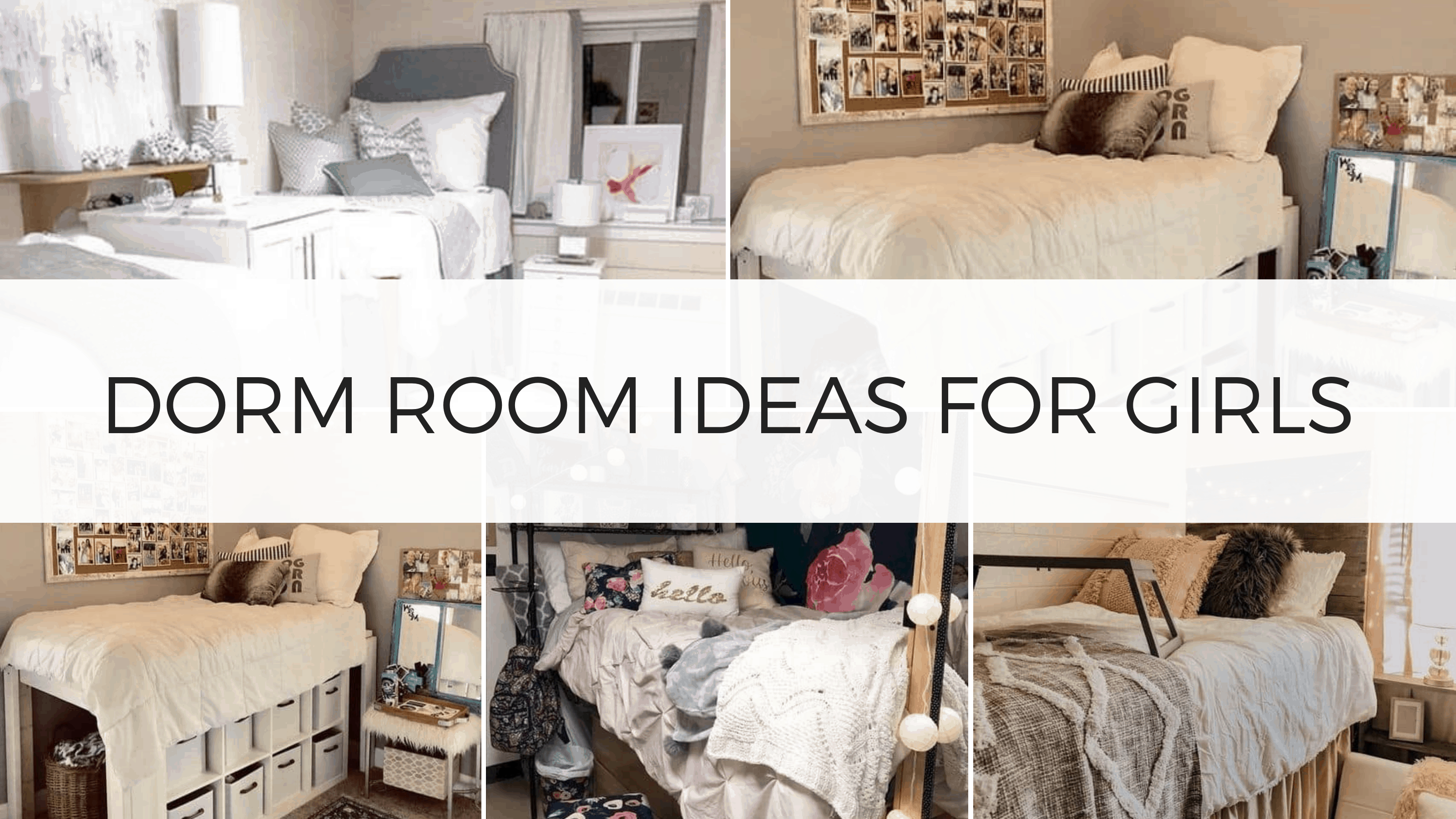 girl dorm room ideas
