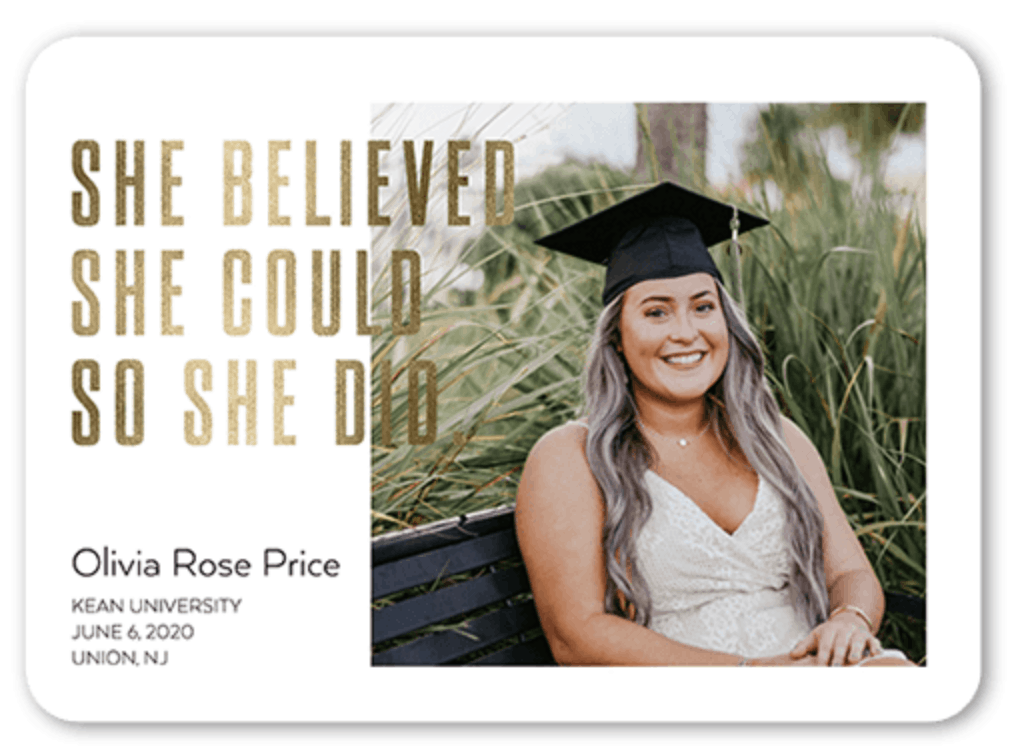 graduation announcements etsy