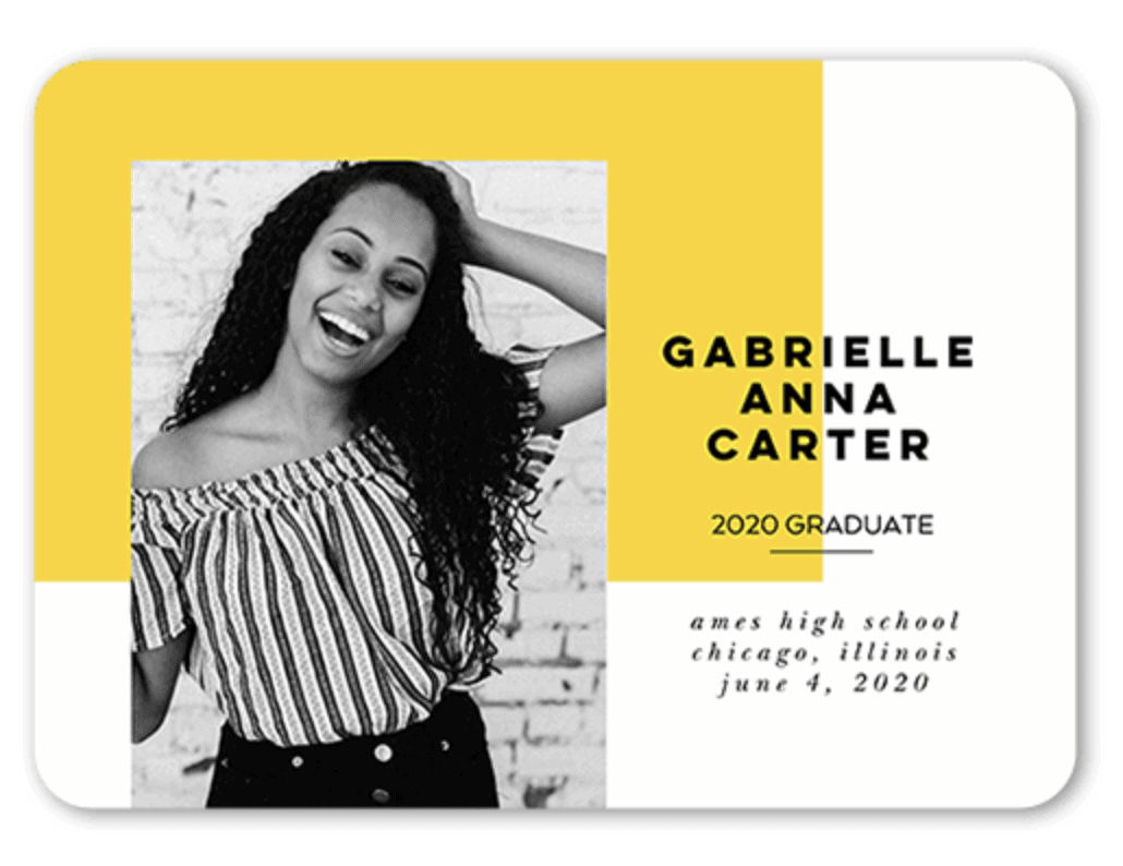 graduation announcements wording 2021