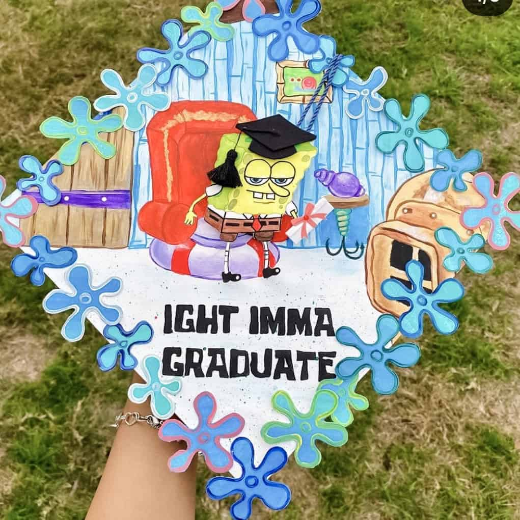 graduation cap ideas funny