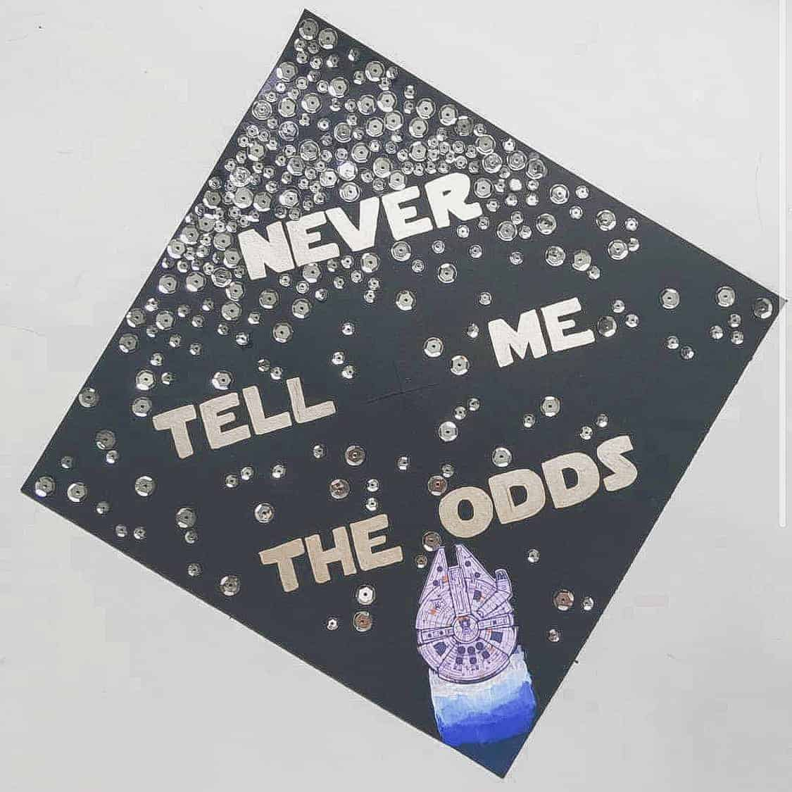 graduation cap ideas star wars