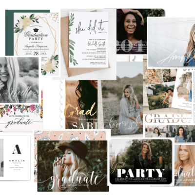 Best Graduation Party Invitations |  22 Insanely Cute Graduation Party Invitations To Use in 2019