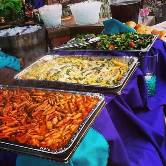 graduation party food high school