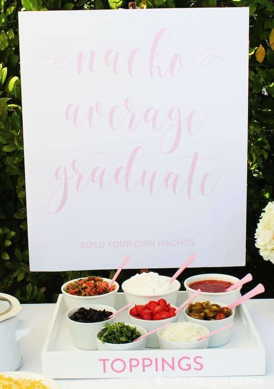 graduation party ideas desserts