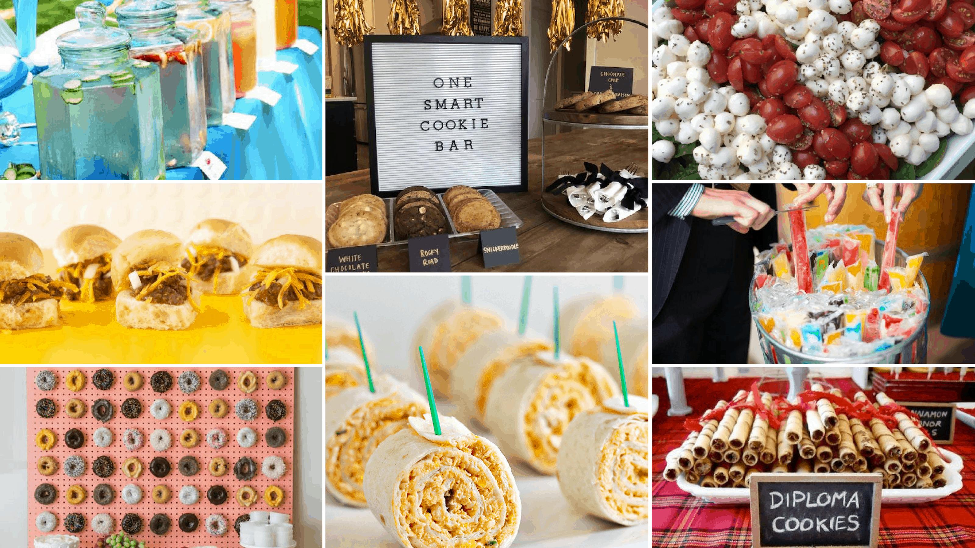 Best Graduation Party Food Ideas 22 Delicious Graduation Party