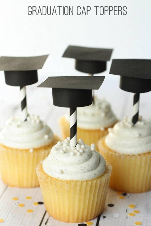 graduation party ideas cupcakes