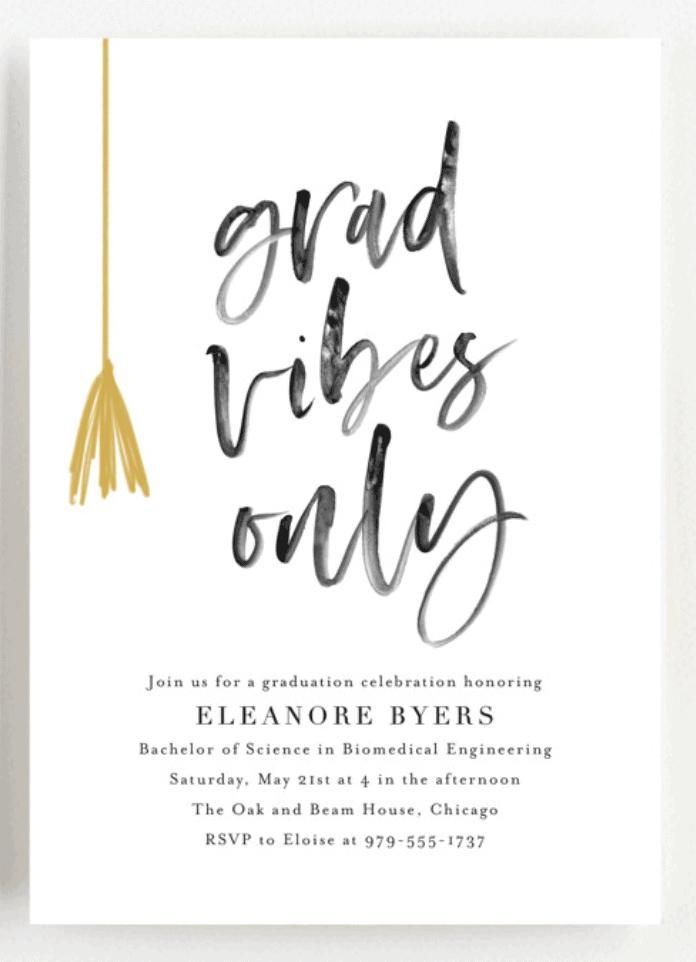 Best Graduation Party Invitations 22