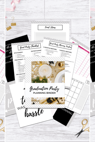 graduation party planner pdf