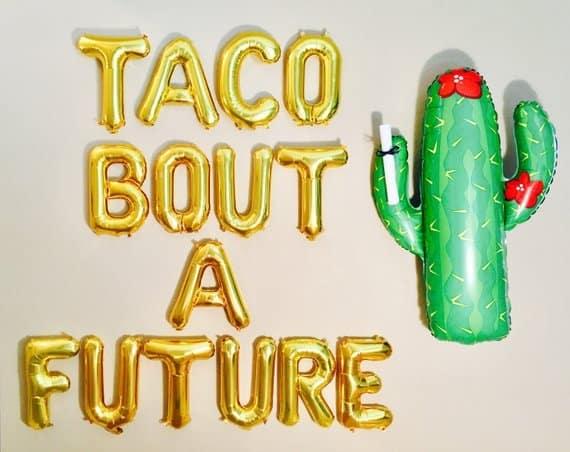 taco about a future balloon
