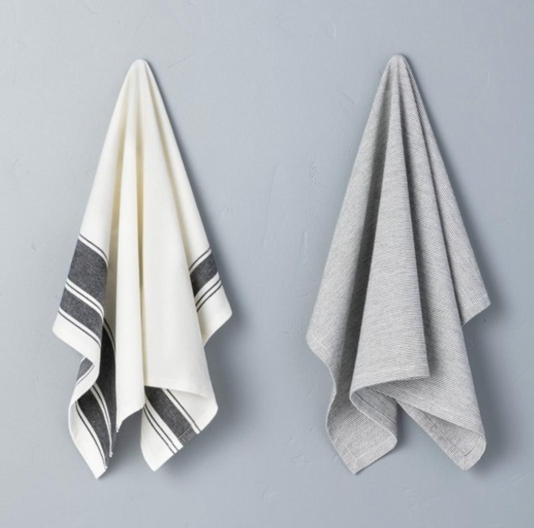 hanging kitchen towels