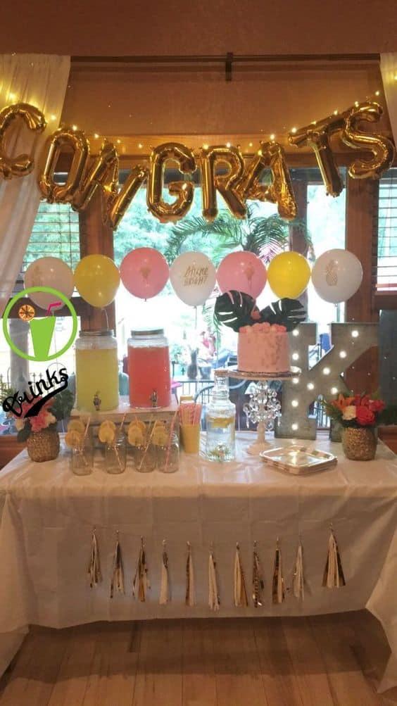 high school graduation party theme