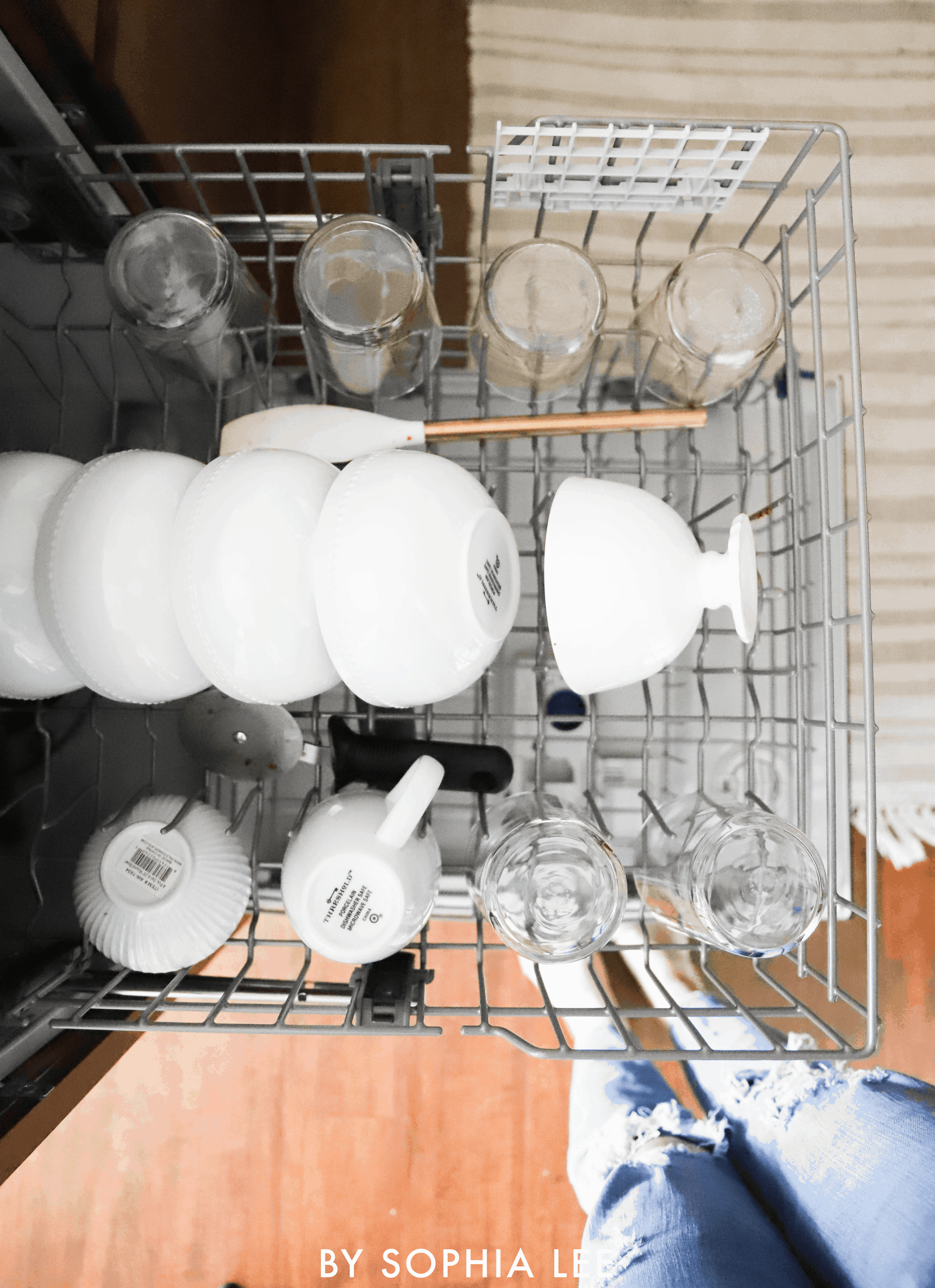 how not to load a dishwasher