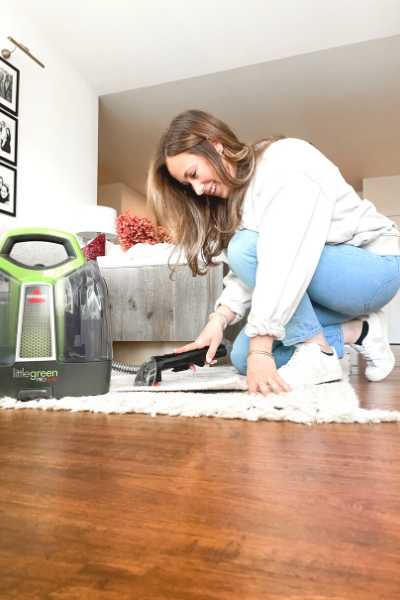 how to clean a rug