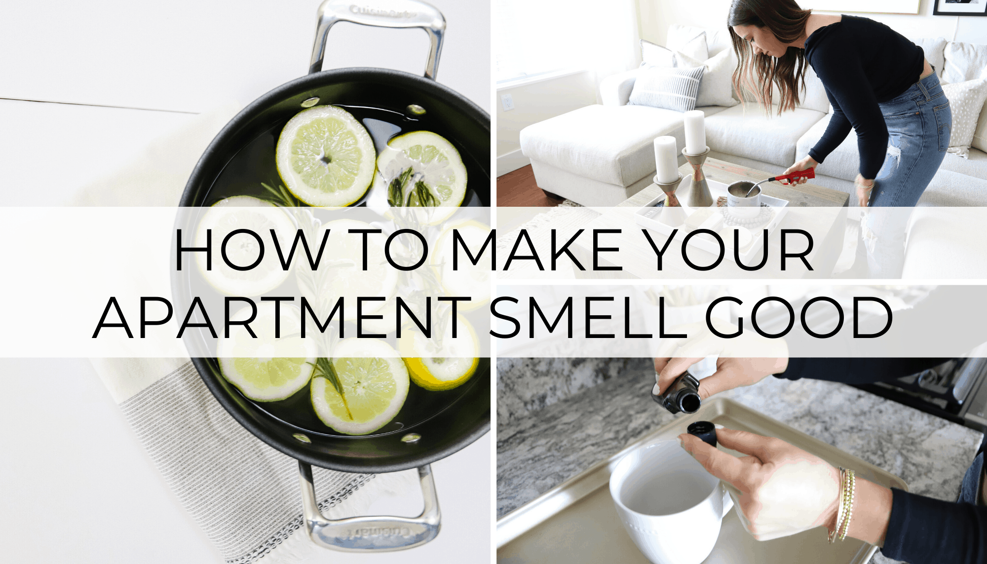 how to make your apartment smell good