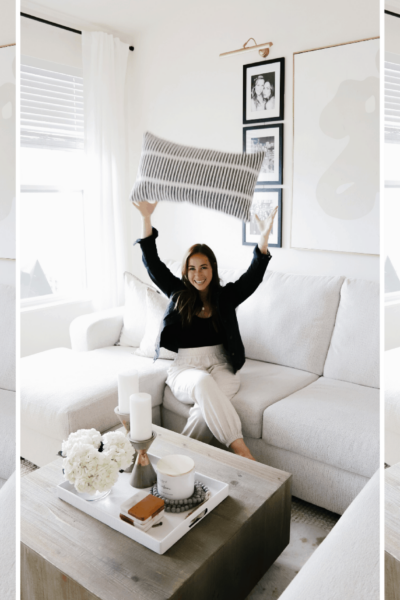 how to style couch pillows to look expensive