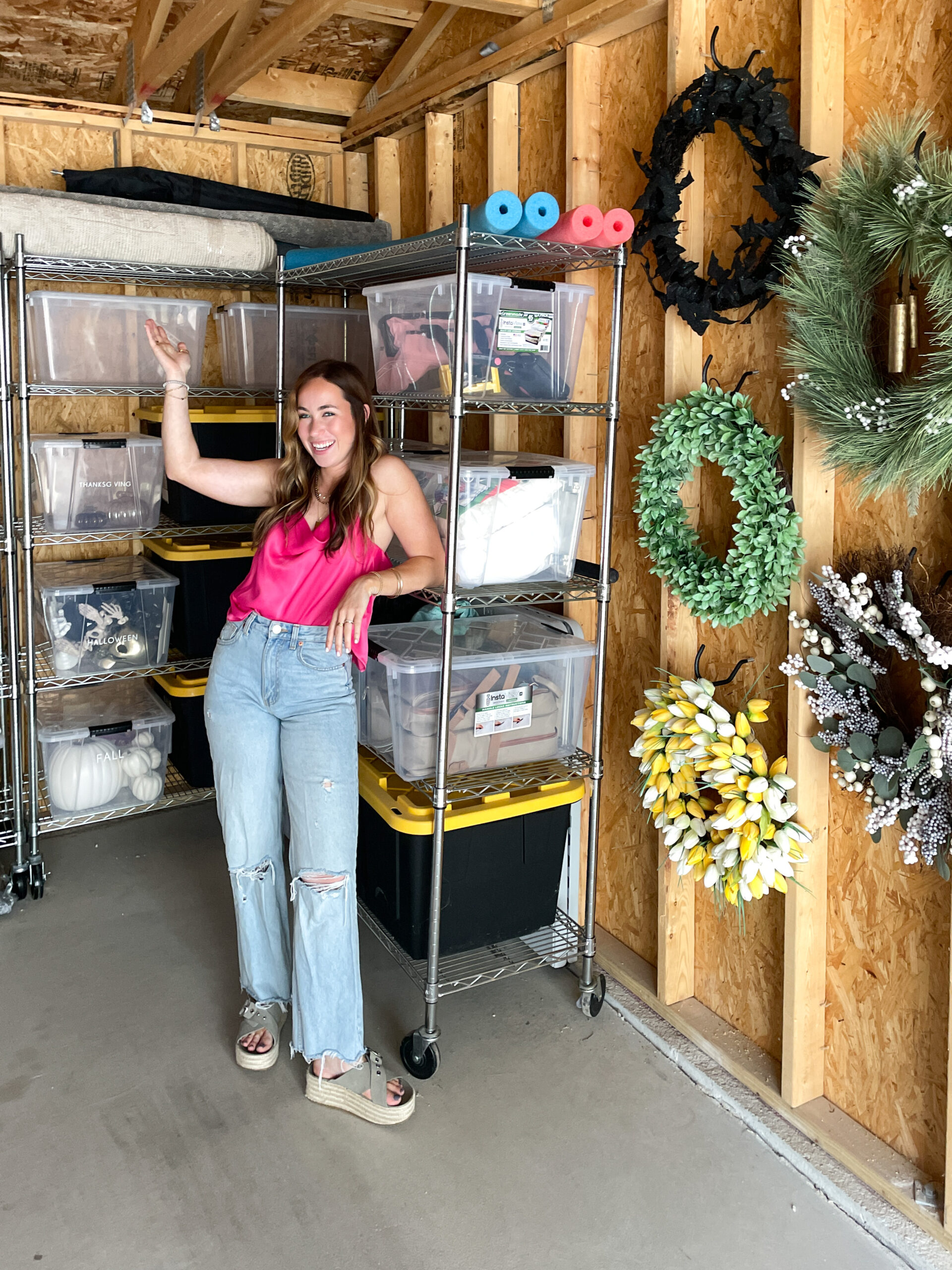 ideas to organize tools in garage