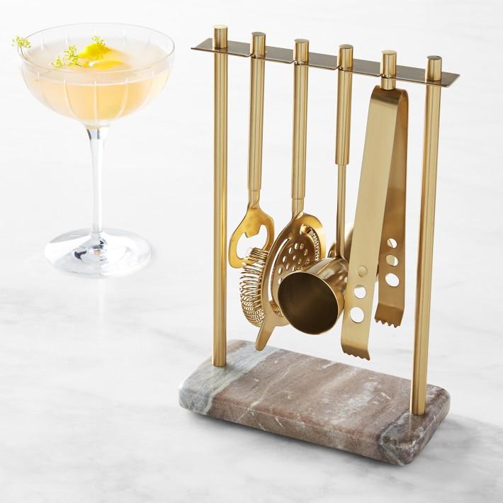 gold cooking utensils