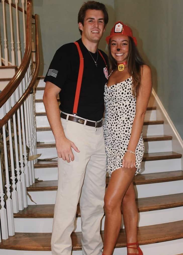 easy couples halloween costume