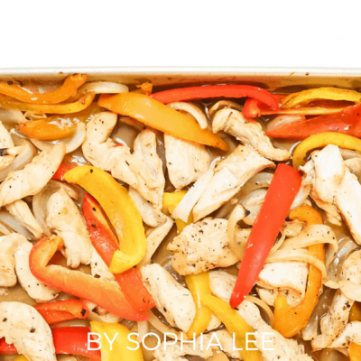 One-Pan Chicken Fajita
