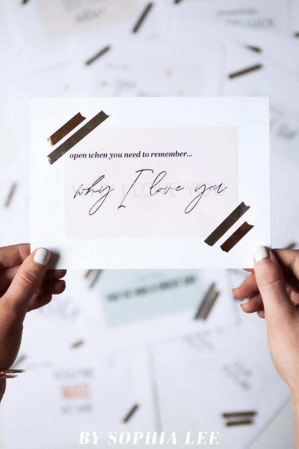 open when letters for boyfriend