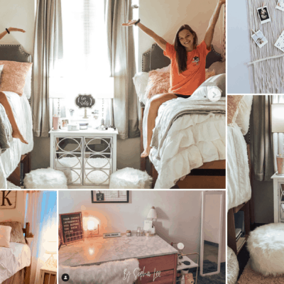 24 Photos of Insanely Beautiful & Organized Dorm Rooms
