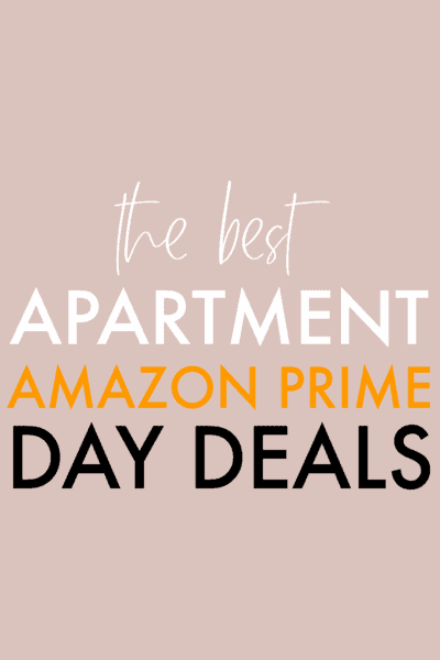 apartment amazon prime day deals